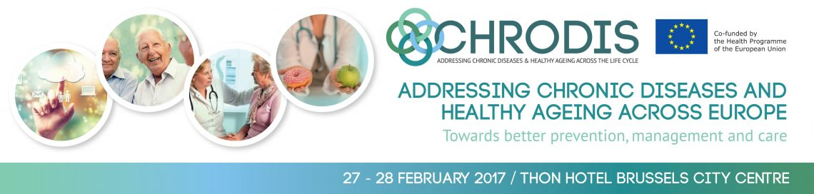CHRODIS Final Conference Banner